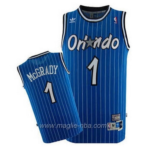 Maglia Tracy McGrady #1 blu Orlando Magic