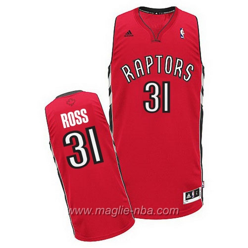 Maglia Terrence Ross #31 rosso Toronto Raptors
