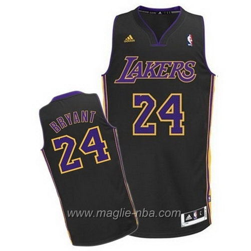 Maglia Swingman Kobe Bryant #24 nero Los Angeles Lakers