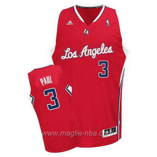 Maglia Swingman Chris Paul #3 rosso Los Angeles Clippers