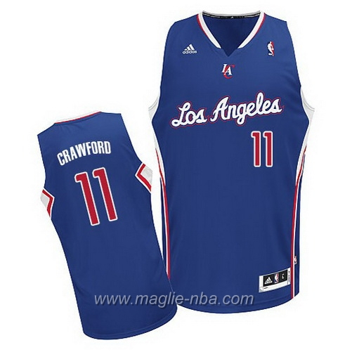 Maglia Swingman Jamal Crawford #11 blu Los Angeles Clippers