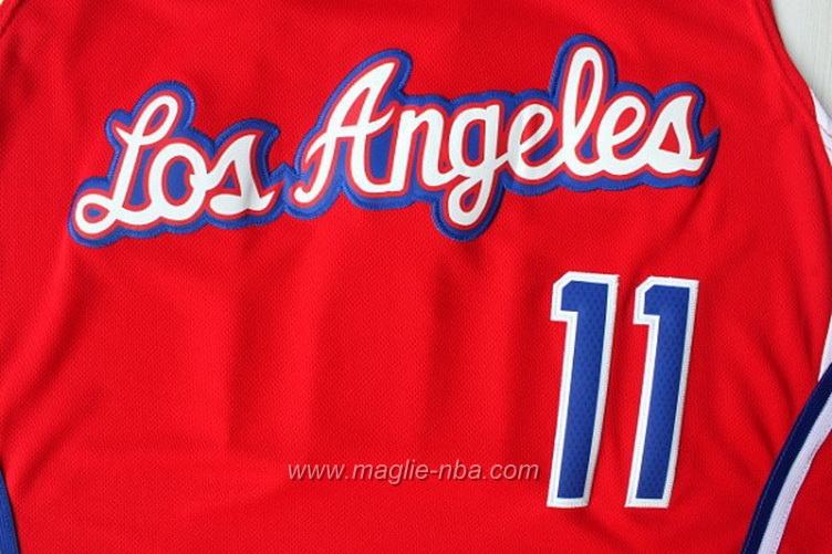 Maglia Swingman Jamal Crawford #11 rosso Los Angeles Clippers