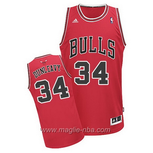 Maglia Swingman Mike Dunleavy #34 rosso Chicago Bulls