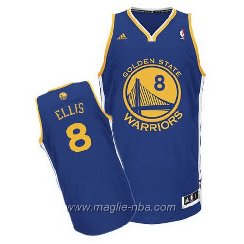 Maglia Swingman Monta Ellis #8 blu Golden State Warriors