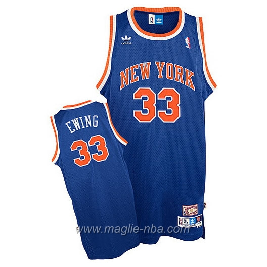 Maglia Swingman Patrick Ewing #33 blu New York Knicks