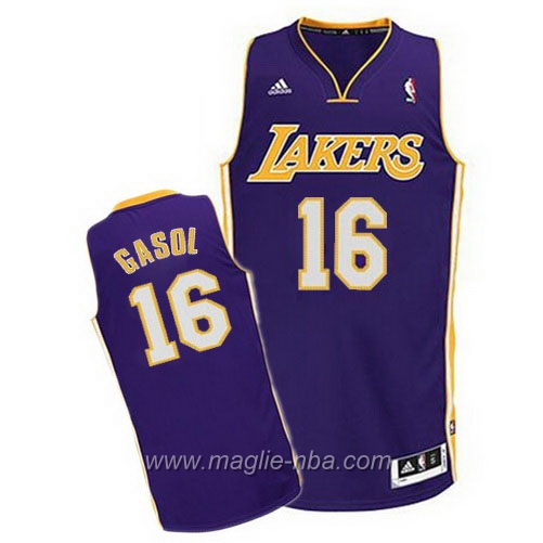 Maglia Swingman Pau Gasol #16 porpora Los Angeles Lakers
