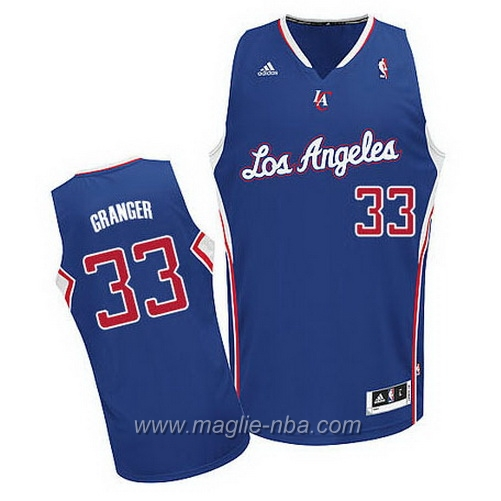 Maglia Swingman Danny Granger #33 blu Los Angeles Clippers