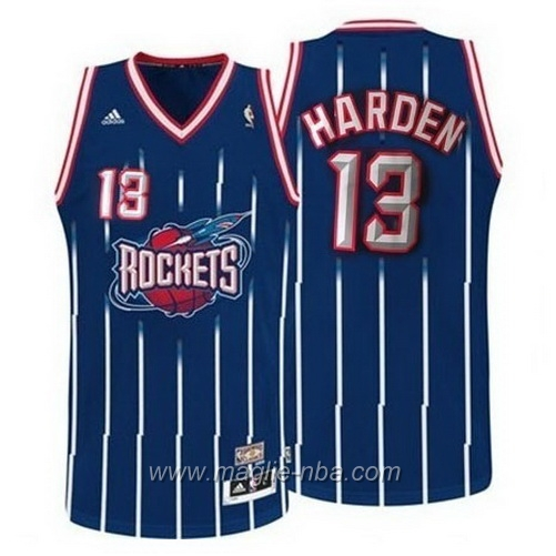 Maglia Swingman James Harden #13 blu Houston Rockets