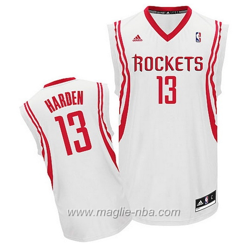 Maglia Swingman James Harden #13 bianco Houston Rockets