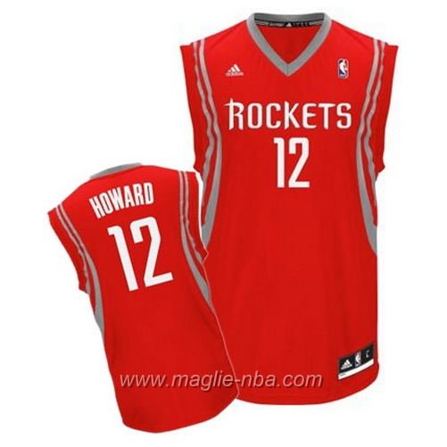 Maglia Swingman Dwight Howard #12 rosso Houston Rockets