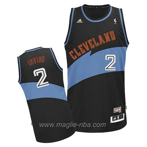 Maglia Swingman Kyrie Irving #2 nero Cleveland Cavaliers