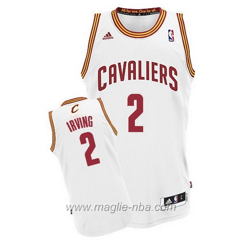 Maglia Swingman Kyrie Irving #2 bianco Cleveland Cavaliers