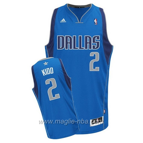 Maglia Swingman Jason Kidd #2 blu Dallas Mavericks