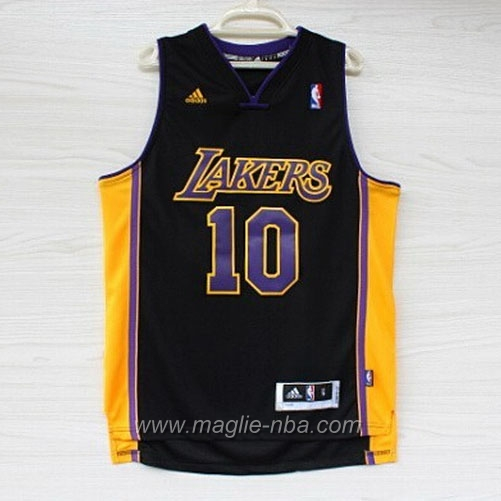 Maglia Swingman Steve Nash #10 nero Los Angeles Lakers