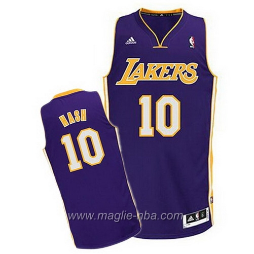 Maglia Swingman Steve Nash #10 porpora Los Angeles Lakers