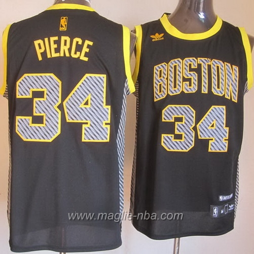 Maglia Swingman Paul Pierce #34 elettricita Moda Boston Celtics