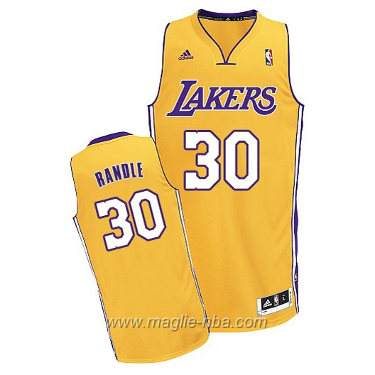 Maglia Swingman Julius Randle #30 giallo Los Angeles Lakers