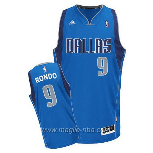 Maglia Swingman Rajon Rondo #9 blu Dallas Mavericks