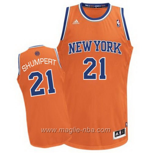 Maglia Swingman Iman Shumpert #21 arancione New York Knicks