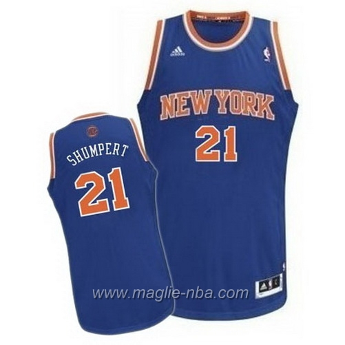 Maglia Swingman Iman Shumpert #21 blu New York Knicks