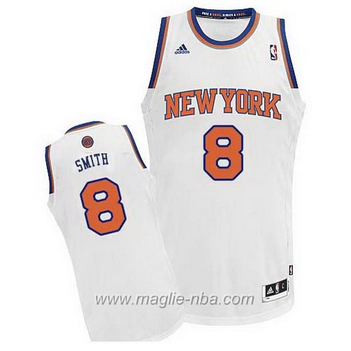 Maglia Swingman J. R. Smith #8 bianco New York Knicks