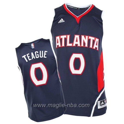 Maglia Swingman Jeff Teague #0 blu Atlanta Hawks