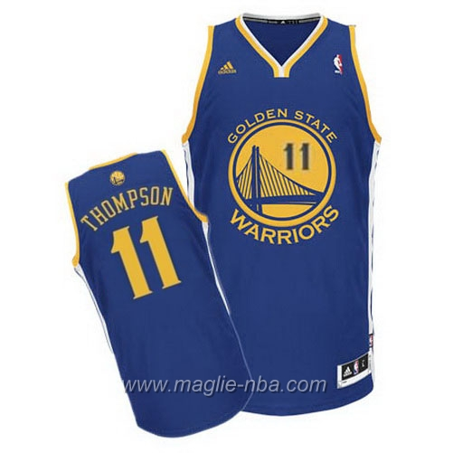 Maglia Swingman Klay Thompson #11 blu Golden State Warriors