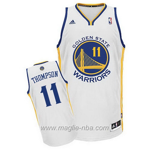 Maglia Swingman Klay Thompson #11 bianco Golden State Warriors