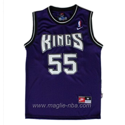 Maglia Swingman Jason Williams #55 porpora Sacramento Kings