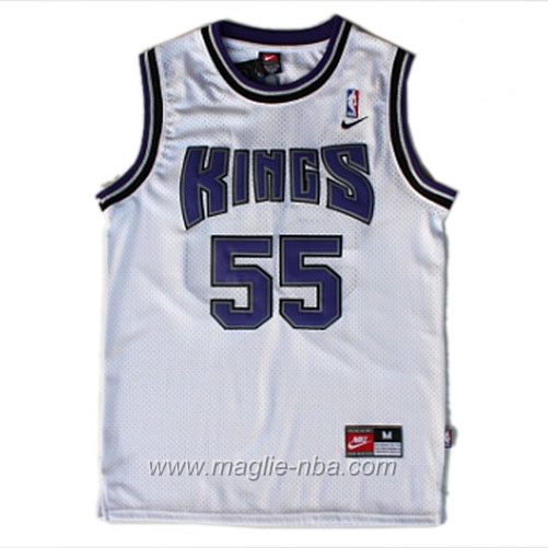 Maglia Swingman Deron Williams #55 bianco Sacramento Kings