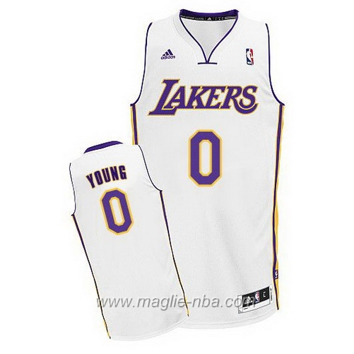Maglia Swingman Nick Young #0 bianco Los Angeles Lakers