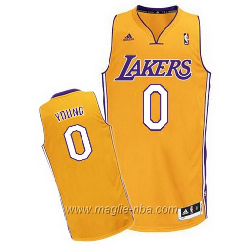 Maglia Swingman Nick Young #0 giallo Los Angeles Lakers