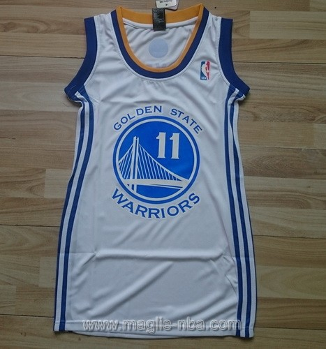 Maglia Donna Golden State Warriors Klay Thompson #11 bianco