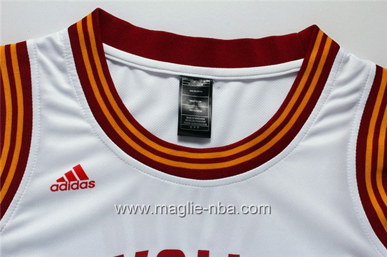 Maglia Donna Cleveland Cavaliers Kyrie Irving #2 bianco