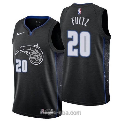 Maglia nba City Edition Nike Orlando Magic #20 Markelle Fultz 2019 nero