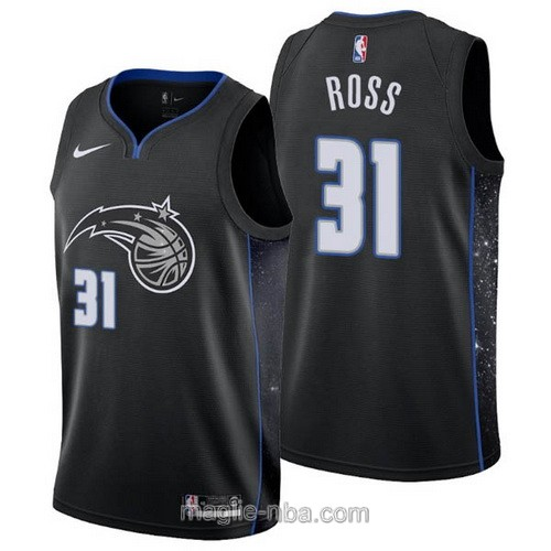 Maglia nba City Edition Nike Orlando Magic #31 Terrence Ross 2019 nero