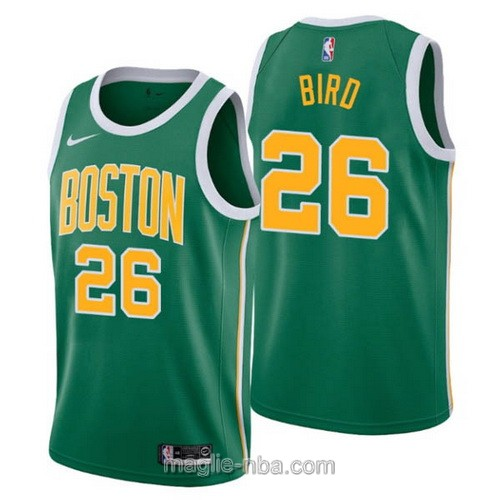Maglia nba Earned Edition Nike Boston Celtics #26 Jabari Bird 2019