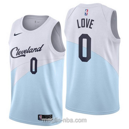 Maglia nba Earned Edition Nike Cleveland Cavaliers #0 Kevin Love 2019
