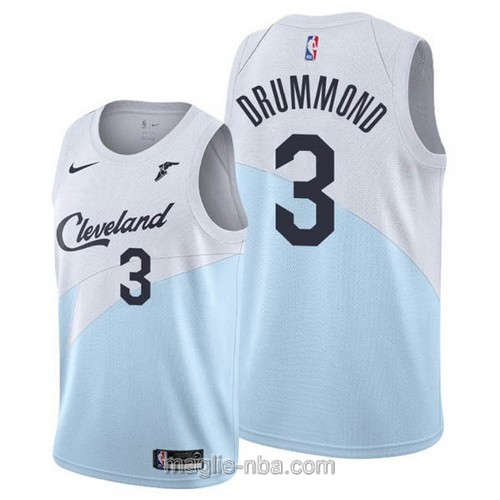 Maglia nba Earned Edition Nike Cleveland Cavaliers #3 Andre Drummond 2019