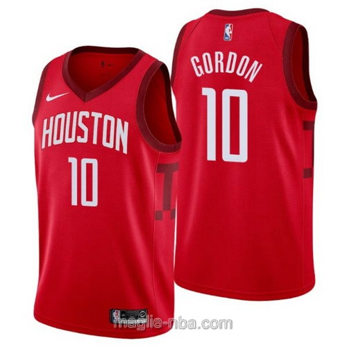 Maglia nba Earned Edition Nike Houston Rockets #10 Eric Gordon 2019