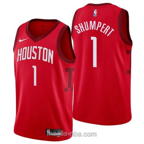 Maglia nba Earned Edition Nike Houston Rockets #1 Iman Shumpert 2019