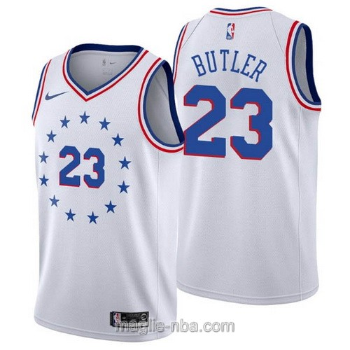 Maglia nba Earned Edition Nike Philadelphia 76ers #23 Jimmy Butler 2019