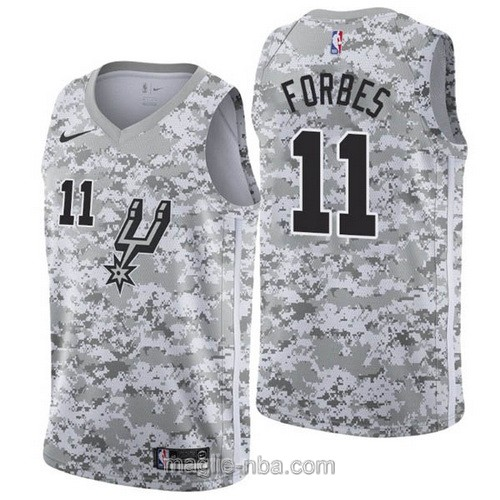 Maglia nba Earned Edition Nike San Antonio Spurs #11 Bryn Forbes 2019