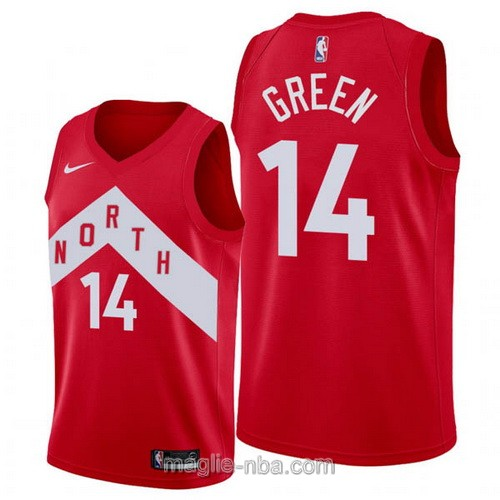 Maglia nba Earned Edition Nike Toronto Raptors #14 Danny Green 2019