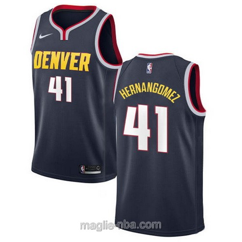 Maglia nba Icon Edition Nike Denver Nuggets #41 Juancho Hernangomez