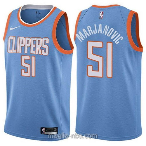 Maglia nba Los Angeles Clippers #51 Boban Marjanovic blu