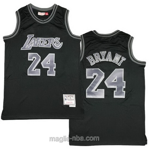 Maglia nba Los Angeles Lakers #24 Kobe Bryant nero