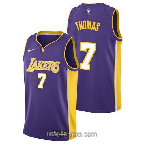 Maglia nba Los Angeles Lakers #7 Isaiah Thomas porpora