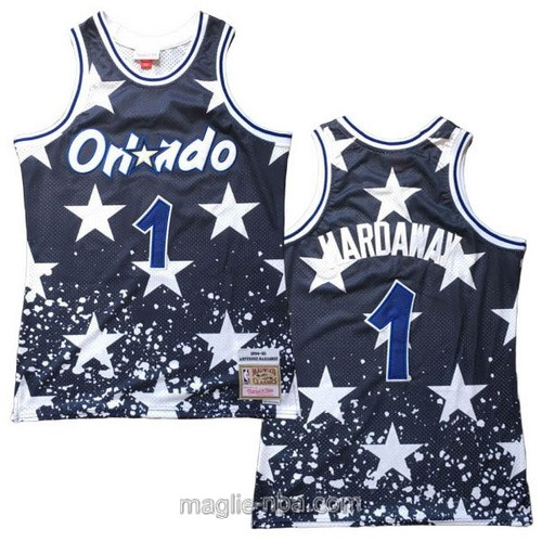 Maglia nba Mitchell & Ness Orlando Magic #1 Anfernee Hardaway 1994-95