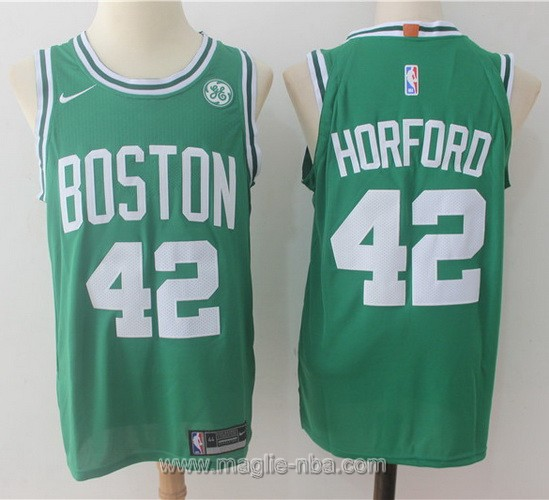 Maglia nba Nike #42 Alfred Horford Boston Celtics verde